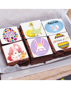 Easter's Day Chocolate Brownie (6 pieces) (A2683)