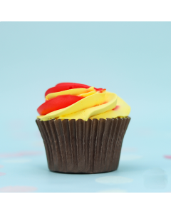 Yellow & Red Cupcakes (BCRM A1309)